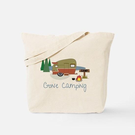 Gone Camping Tote Bag