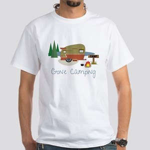 Gone Camping White T-Shirt
