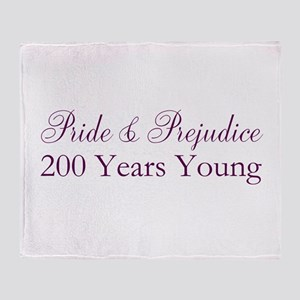 200th Anniversary Throw Blanket