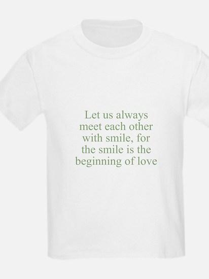 Let us always meet each other Kids T-Shirt