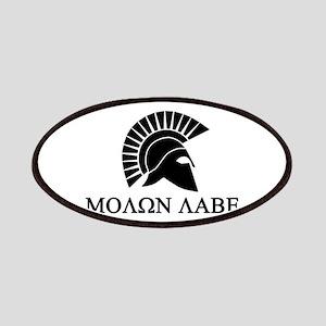 Molon Labe Warrior Patches