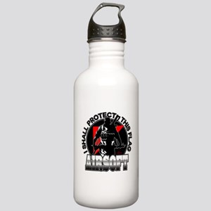 Protect Flag Airsoft Stainless Water Bottle 1.0L
