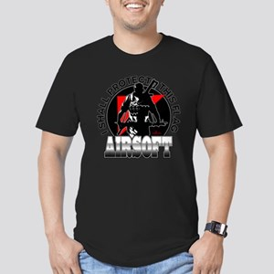 Protect Flag Airsoft Men's Fitted T-Shirt (dark)