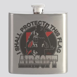 Protect Flag Airsoft Flask