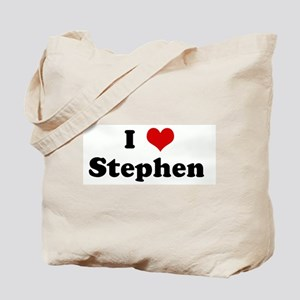 I Love Stephen  Tote Bag