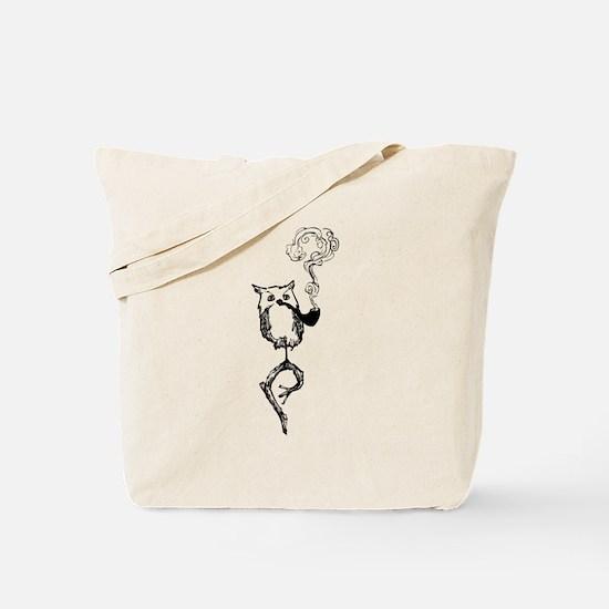 Philosophy Owl Tote Bag