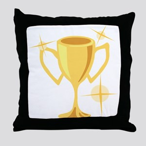 Trophy Cup Throw Pillow