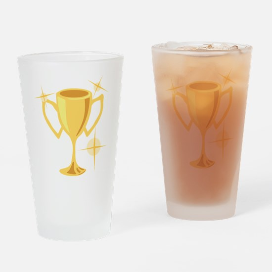 Trophy Cup Drinking Glass