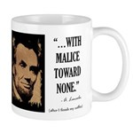 With malice toward none Mug