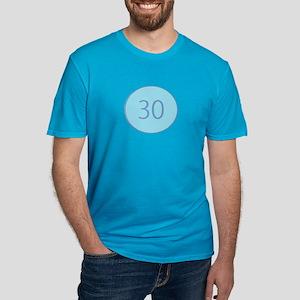 Thirty Men's Fitted T-Shirt (dark)