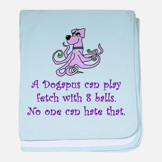 Big Bang Dogapus baby blanket