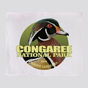 Congaree NP Throw Blanket