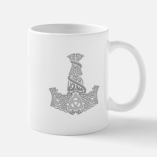 Mjolnir Silver Mug