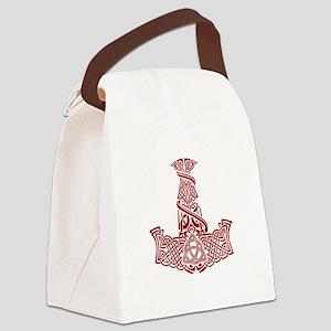 Mjolnir Ruby Canvas Lunch Bag