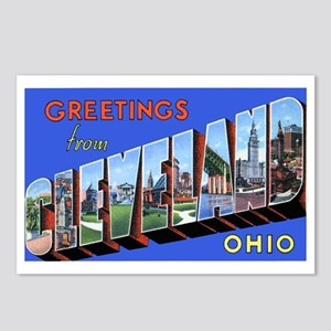 Cleveland Ohio Greetings Postcards (Package of 8)