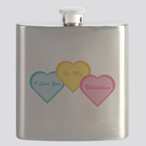 Be My Valentine Flask