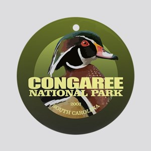 Congaree NP Round Ornament