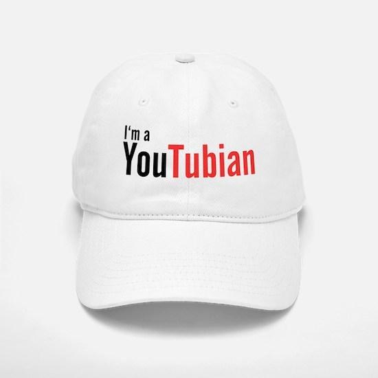 I'm A YouTubian Baseball Baseball Cap