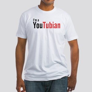 I'm A YouTubian Fitted T-Shirt