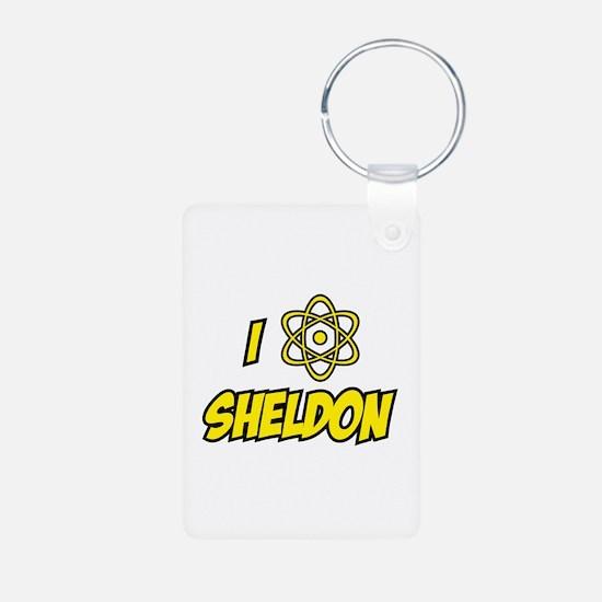 I Love Sheldon Keychains