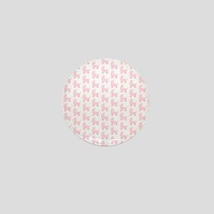 Baby Stroller Pattern. Pink. Mini Button