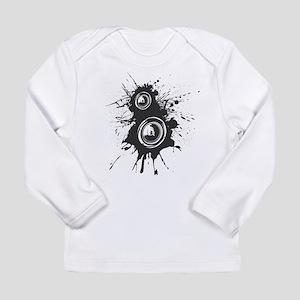 Speaker Splatter DJ Long Sleeve Infant T-Shirt