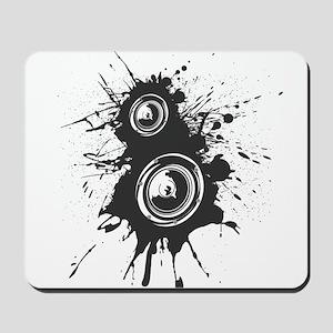 Speaker Splatter DJ Mousepad