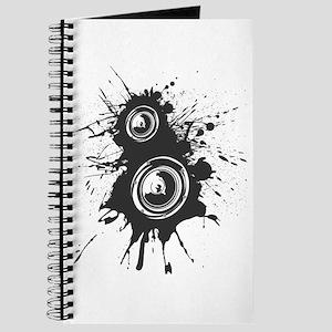 Speaker Splatter DJ Journal