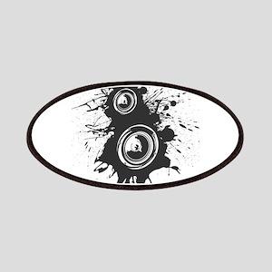 Speaker Splatter DJ Patches