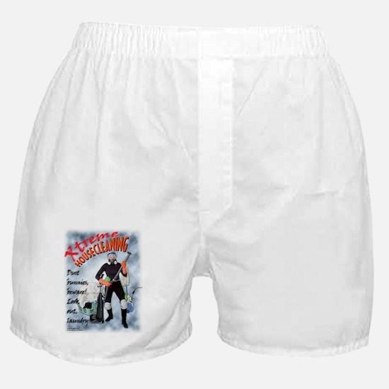 """Xtreme"" Housecleaning Boxer Shorts"