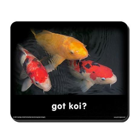Got Koi Mousepad