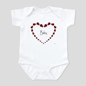 LADYBUG HEART Infant Bodysuit