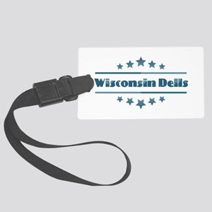 Wisconsin Dells Large Luggage Tag