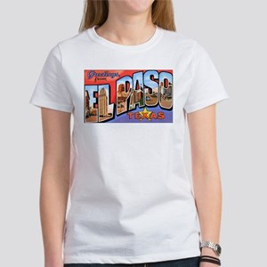 El Paso Texas Greetings (Front) Women's T-Shirt