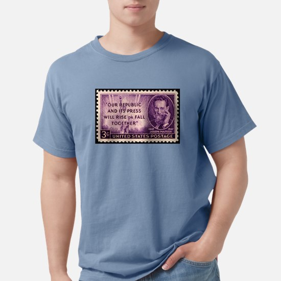Pulitzer Stamp Mens Comfort Colors Shirt
