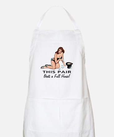 This Pair Beats A Full House BBQ Apron