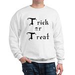 Trick or Treat Jolly Roger Sweatshirt