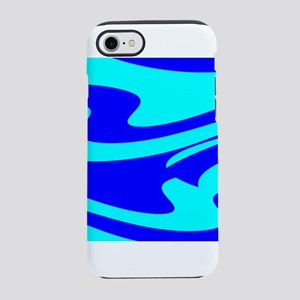 Turquoise Wild Wave 4Randy iPhone 7 Tough Case