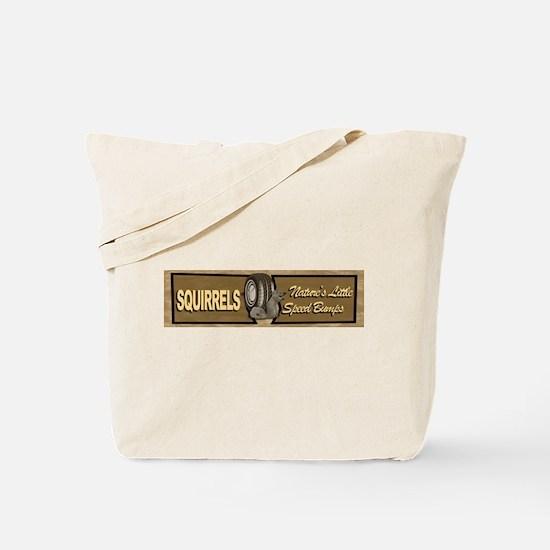 Squirrels - Natures Little Sp Tote Bag