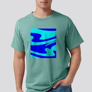 Turquoise Wild Wave 4Ran Mens Comfort Colors Shirt