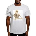 Skeleton Pal Ash Grey T-Shirt