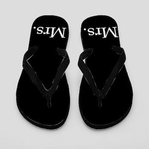 7e37159de Mr And Mrs Flip Flops - CafePress