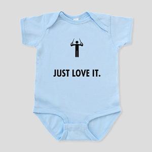 Gymnastic Still Rings Infant Bodysuit