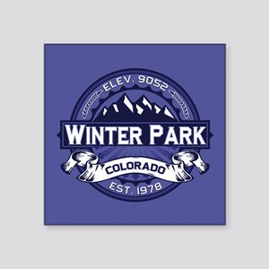 "Winter Park Midnight Square Sticker 3"" x 3"""