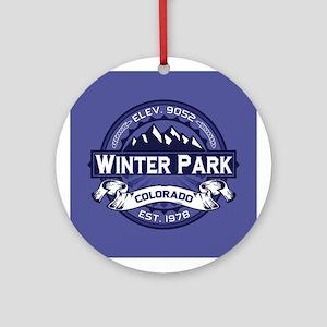 Winter Park Midnight Ornament (Round)