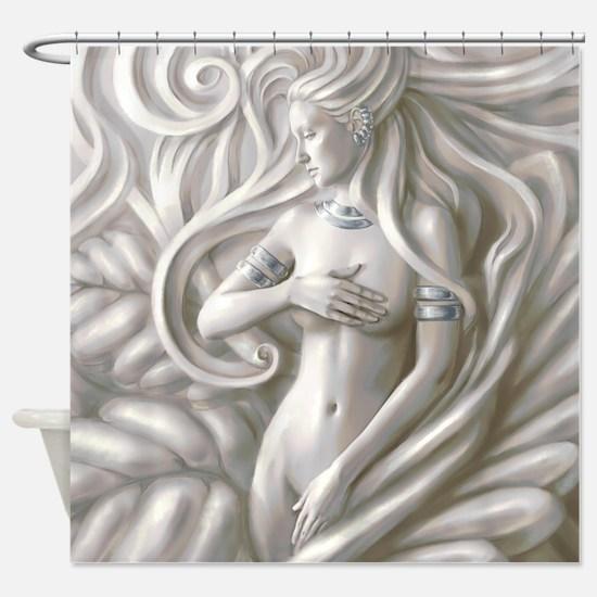 Modern Venus Shower Curtain