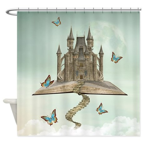 Fairytale Storybook Shower Curtain