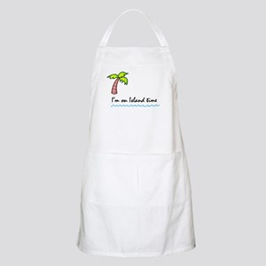 I'm on Island Time Apron