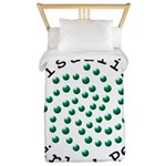 Visualize Whirled Peas 2 Twin Duvet