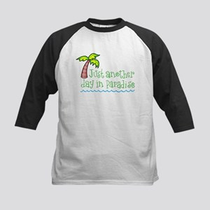 Another Day in Paradise Kids Baseball Jersey